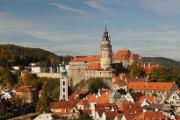 Český Krumlov 10-2009 panoráma