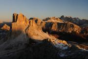 Dolomity 11-2009 panoráma