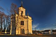 Kirche Schmerzensreiche Jungfrau Maria in Dobrá Voda bei Budweis 01-2011