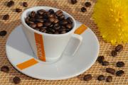 Tasse Kaffee mit Blume 10-2012