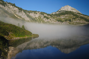 Totes Gebirge 09-2013 panoráma