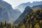 Dolomity 10-2014 panoráma