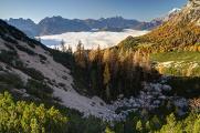 Dolomity 10-11-2015 panoráma