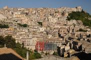 Itálie 07-2016 Sicílie panoráma