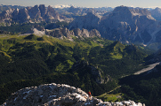 Dolomity 08-2016 Monte Civetta panoráma