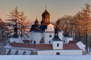 kostel Nejsvětější Trojice 01-2017 panoráma