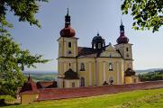 Dobrá Voda - kostel Nanebevzetí Panny Marie 06-2017