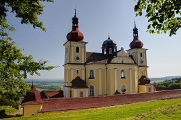 Pfarrkirche der Himmelfahrt der Jungfrau Maria in Dobrá Voda in Novohradské Hory 06-2017