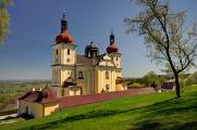 Dobrá Voda 04-2018 Pfarrkirche der Himmelfahrt der Jungfrau Maria