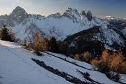 Dolomity 03-2019 panoráma