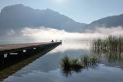 rakouská jezera Severních vápencových Alp 07-08-2020