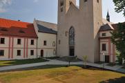 klášter v Milevsku