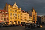 náměstí Přemysla Otakara II. a hotel Zvon