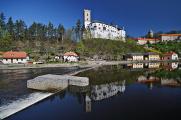 hrad Rožmberk VII
