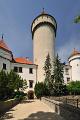 státní zámek Konopiště- věž II