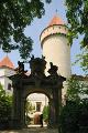 státní zámek Konopiště- věž III