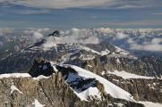 pohled z vrcholu na Grand Combin