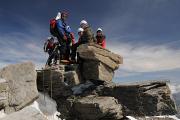 vrcholové foto z Gran Paradiso