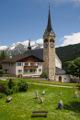 Sedrun v údolí Vorderrheintal