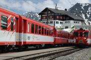 železniční zastávka Oberalppass