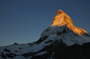 Matterhorn v ranním světle II