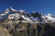 Dent Blanche, Obergabelhorn, Zinalrothorn a Weisshorn