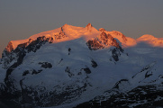 Monte Rosa - Nordend and Dufourspitze