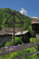 Matterhorn od osady St. Barbara