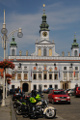 náměstí Přemysla Otakara II. s budovou radnice