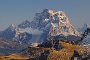 Monte Pelmo ze sedla Pordoi