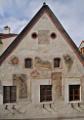 Švamberský dům - štít