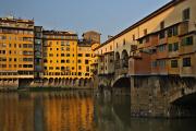 řeka Arno a Ponte Vecchio I