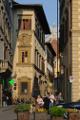 ulička Via de' Cerretani s kupolí Duoma