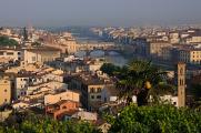 řeka Arno a Ponte Vecchio III