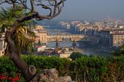 řeka Arno a Ponte Vecchio IV