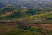 večerní toskánská krajina IV