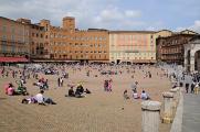 Siena-náměstí Piazza del Campo I
