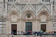 sienská katedrála Duomo  v dešti II