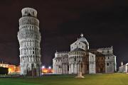 Pisa - Campo dei Miracoli a šikmá věž Torre Pendente II