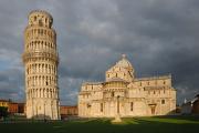 Pisa - Campo dei Miracoli a šikmá věž Torre Pendente I