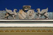 zámek - detail erbovního znaku