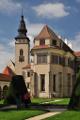 Telč-zámek s kaplí Všech svatých
