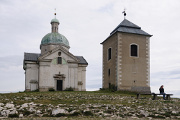 Mikulov-kaple sv.Šebestiána na Svatém kopečku