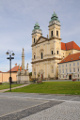 Valtice-farní kostel Nanebevzetí Panny Marie