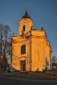 barokní kostel Panny Marie Bolestné V