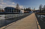 Lang Steg, Schwimmstadion und Schwarz Turm