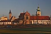Schwarz Turm und Dominikanerkloster mit Weiss Turm