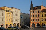 Mallner-Haus und Puklice-Haus auf Stadtplatz