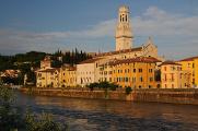 Verona - Duomo nad řekou Adige