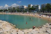 Cannes - veřejná pláž
